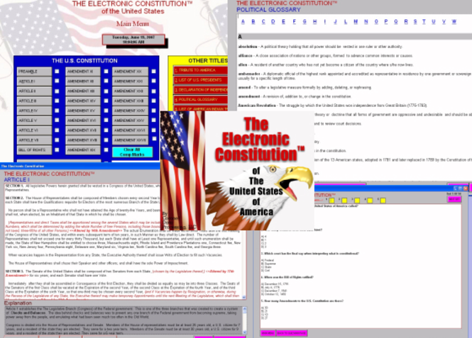 Electronic Constitution Screenshot 1