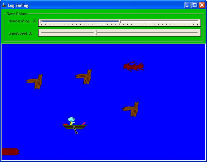 Log Sailing Screenshot 1