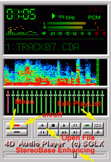 !4D AudioPlayer SGLX Screenshot