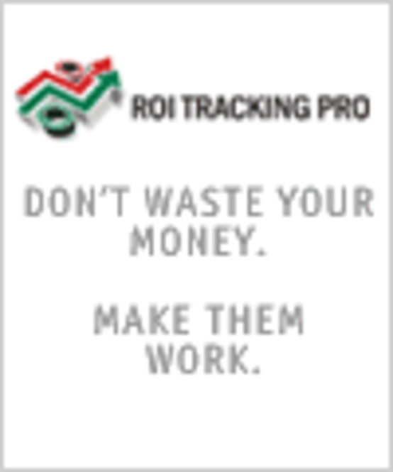 ROI Tracking Pro [World Wide License] Screenshot