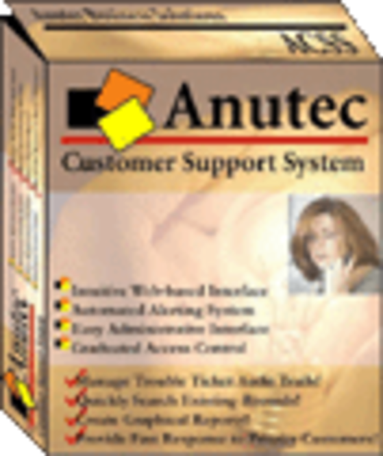 Anutec Customer Support System - 5 login accounts Screenshot