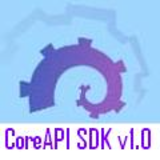 CoreAPI SDK Personal Screenshot