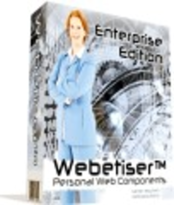 Webetiser(tm) Enterprise Edition Screenshot