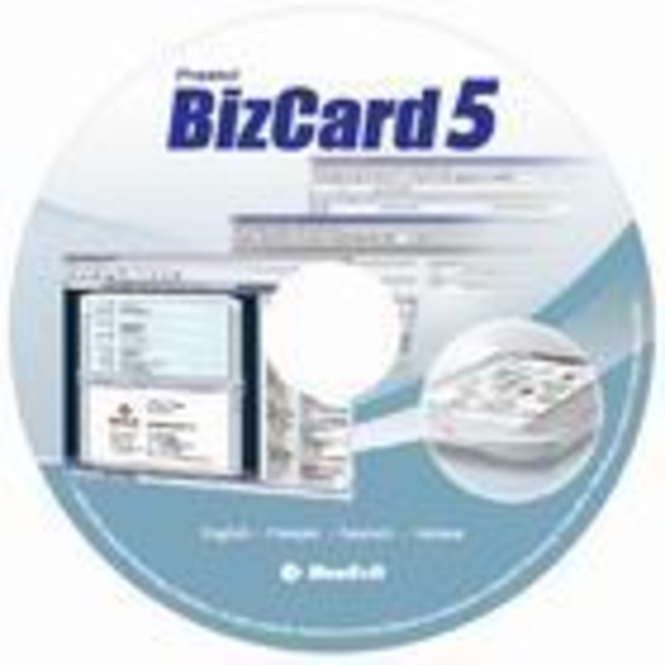Presto! BizCard Software 5/ French/ CD/ 6-License Screenshot
