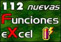 112 Nuevas Funciones Excel 1