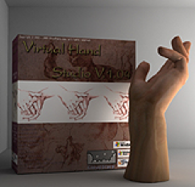 Virtual Hand Studio Screenshot 1