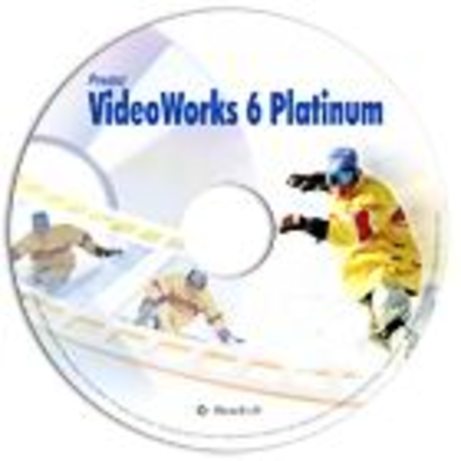 VideoWorks 6 Platinum/English/ESD Screenshot 1