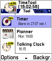 TimeTool f. Series 60 Smartphones (English Version) Screenshot
