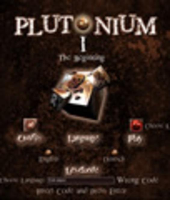 Plutonium I Screenshot 1