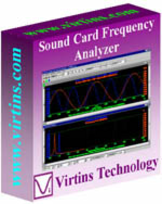 Sound Card Spectrum Analyzer Screenshot