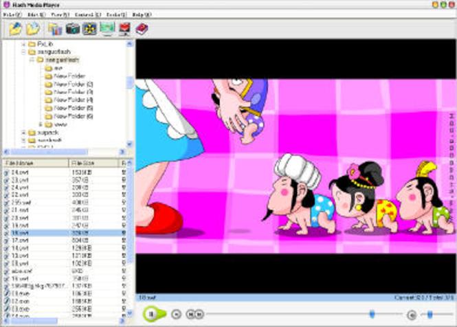 GoldSolution Flash Media Player Screenshot 1