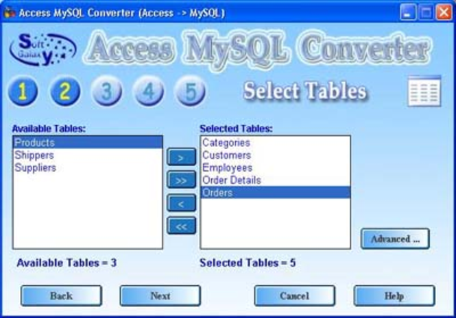 Access MySql Screenshot