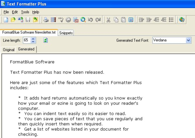 Text Formatter Plus Screenshot 1