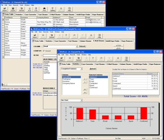 WinPure ListCleaner Pro Screenshot