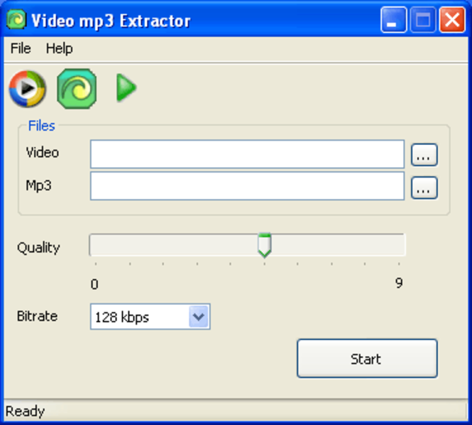 Video mp3 Extractor Screenshot 1