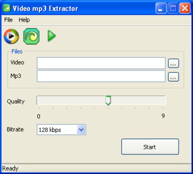 Video mp3 Extractor Screenshot