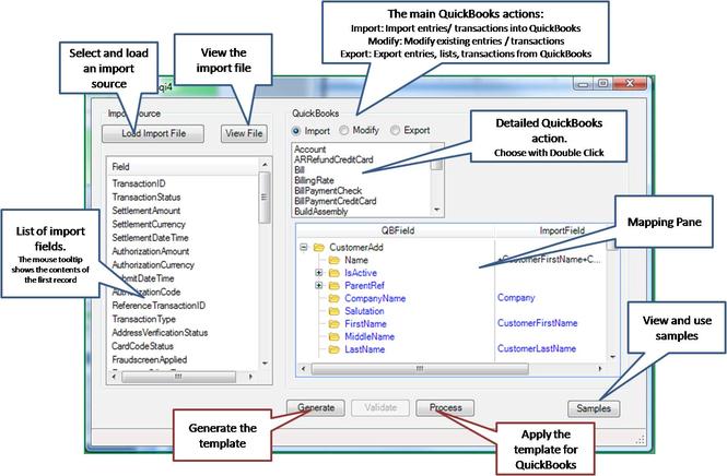 QImport Screenshot