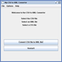My CSV to XML Converter 1