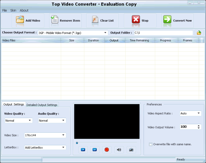 Top Video Converter Screenshot 1