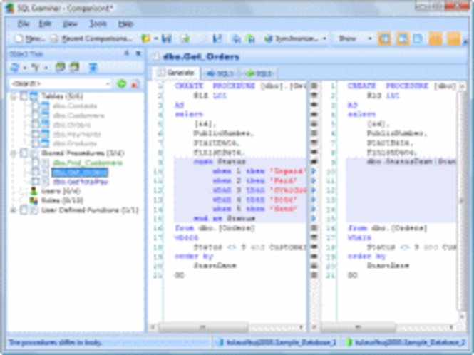 SQL Examiner 2009 Screenshot