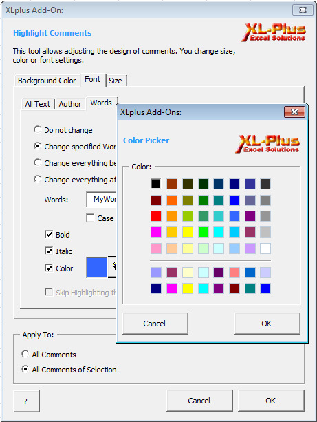 XLplus Screenshot 2