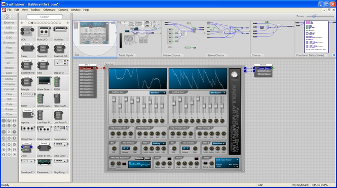 SynthMaker Screenshot