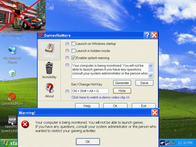 GamesNoMore Screenshot