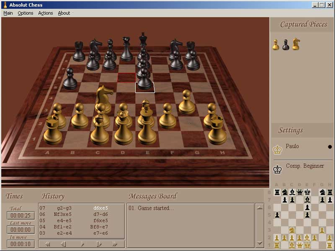 Absolut Chess Screenshot 1