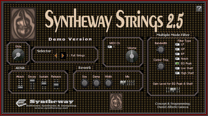 Syntheway Strings VSTi Screenshot