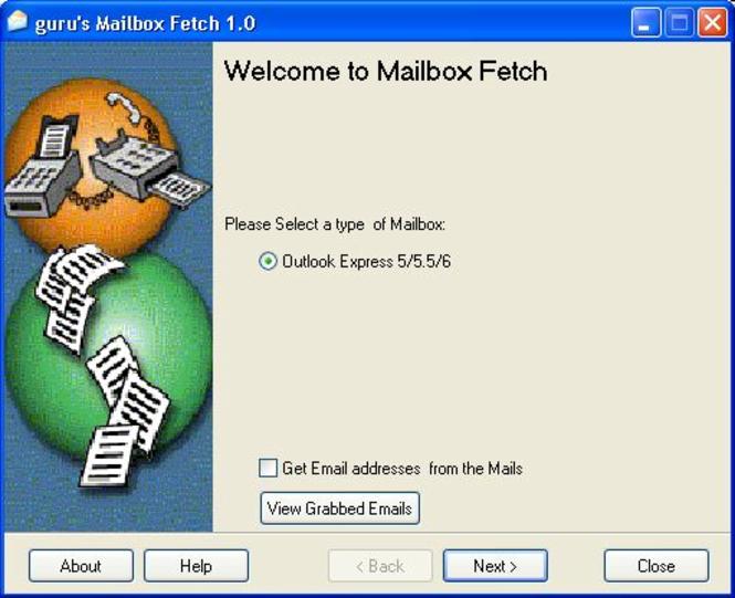 Mailbox Fetch Screenshot