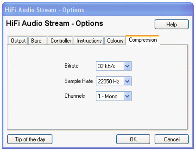 HiFi Audio Stream Screenshot
