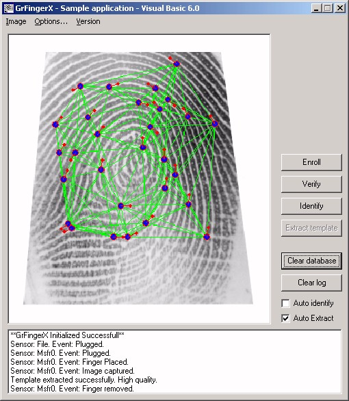 download fingerprint sdk 2009