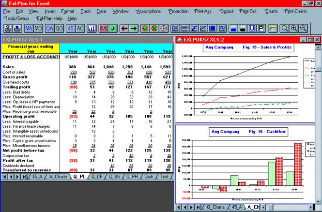 Exl-Plan Ultra Plus Screenshot 1