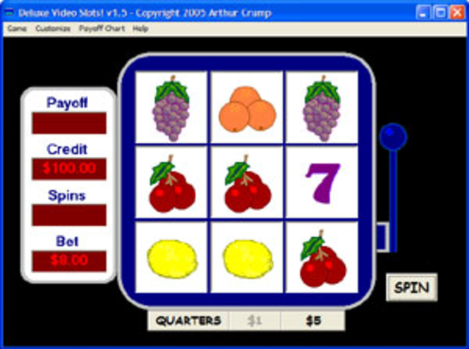 Deluxe Video Slots Screenshot 1