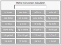Online Metric Conversion Calculator 1