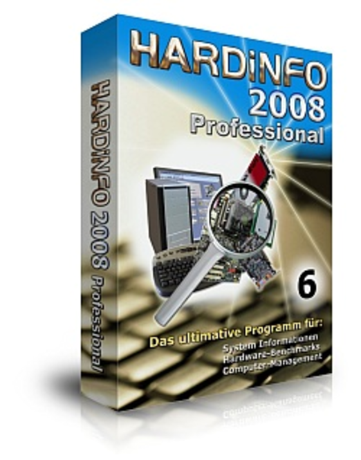 HARDiNFO 2008 Professional Screenshot