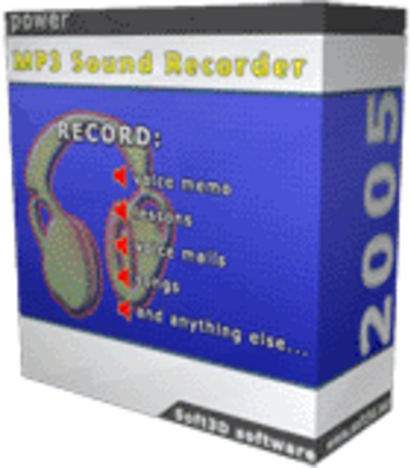 power MP3 Sound Recorder 2005 Screenshot