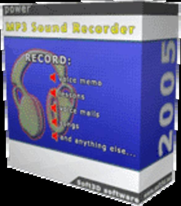 power MP3 Sound Recorder 2005 Screenshot 1