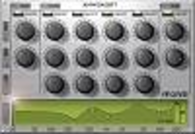 PEQ1V - Mac OS X (Audio Units/VST) Screenshot 2