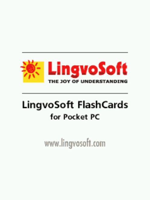 LingvoSoft FlashCards English <-> Arabic for Pocket PC Screenshot