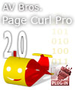 AV Bros. Page Curl Pro 2.2 for Mac OS X 1