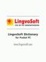 LingvoSoft Talking Dictionary English <-> Italian for Pocket PC 1