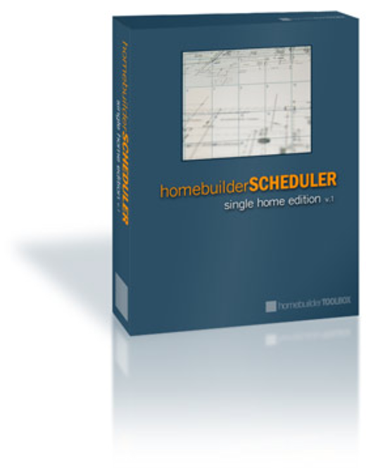 homebuilder SCHEDULER Screenshot