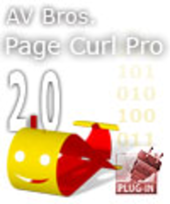 AV Bros. Page Curl Pro 2.2 for Windows Screenshot