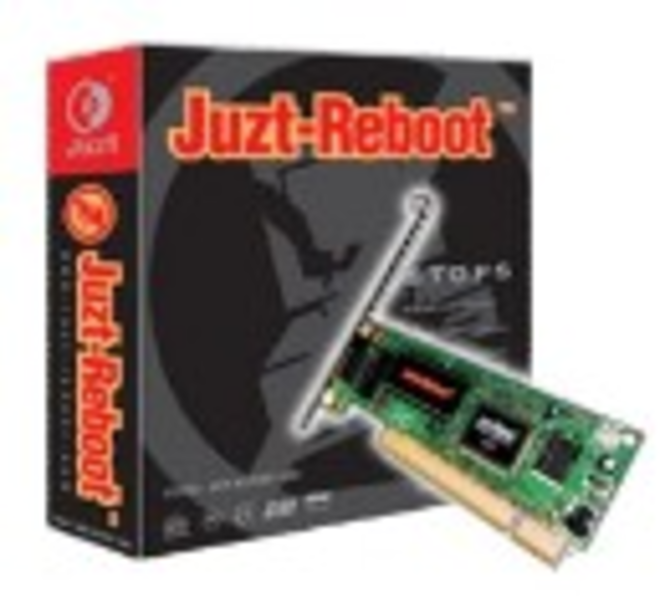 Juzt-Reboot PCI-NT Intelligent Backup Screenshot
