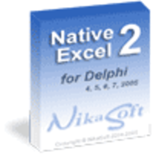 NativeExcel suite v2.x single license Screenshot