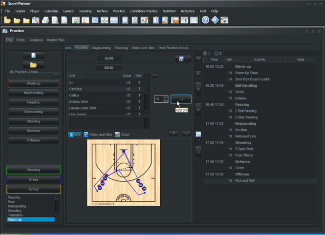 Sport Office BasketBall Screenshot