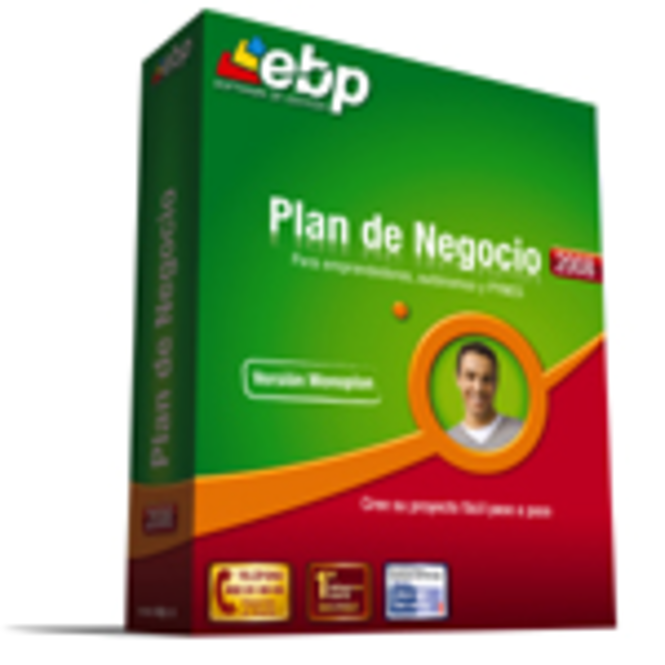 EBP Plan de Negocio 2008 (monoplan) Screenshot