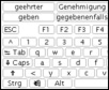 beKEY deluxe on-screen keyboard 1