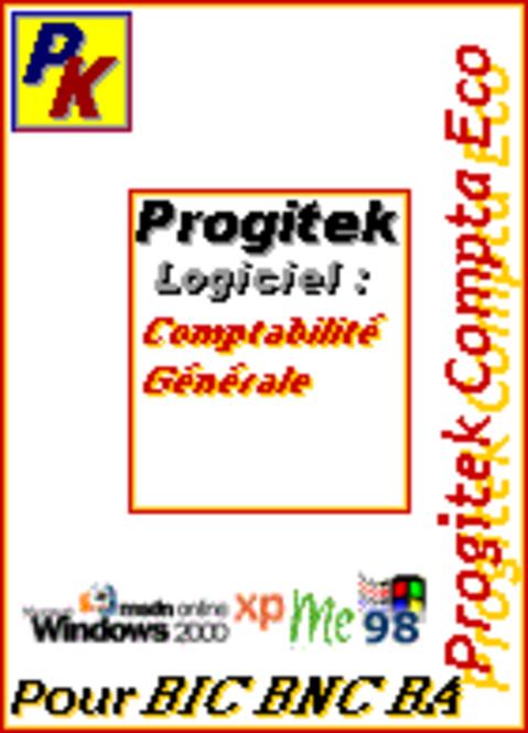 Progitek Compta Eco CD-ROM 2009 Screenshot 1